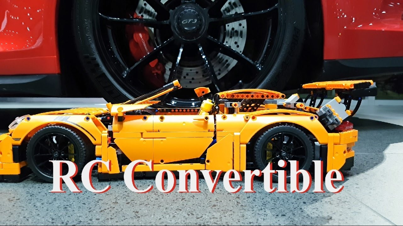 Rc Convertible Porsche 911 Gt3 Rs Lego Technic 42056 Mod