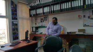 Funny dance of my Friend from Qatar