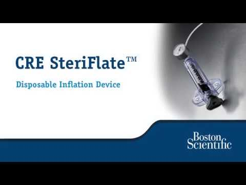 Set-up and Use of the CRE™ SteriFlate Inflation Device