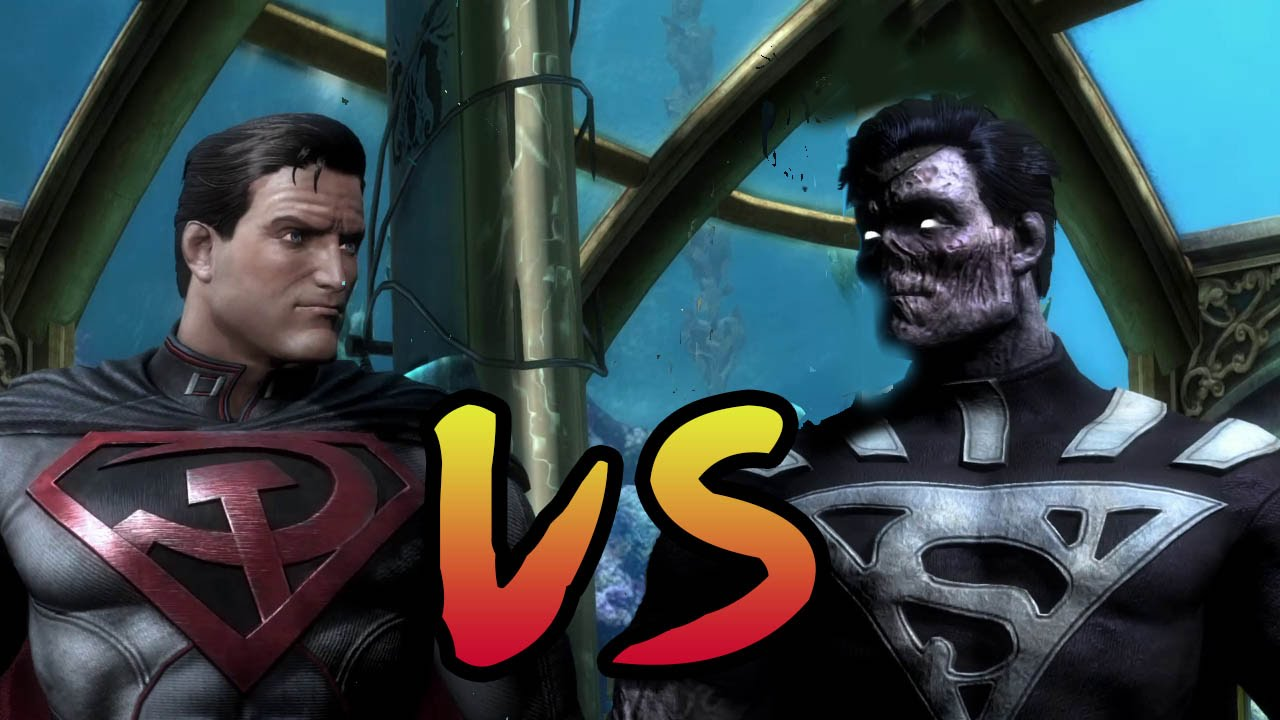 Black Superman VS Zombie INJUSTICE GOD AMOUG GAMEPLAY