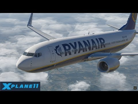 X-Plane 11 | ZIBO B737-800X | Bologna to Malta | Highlights