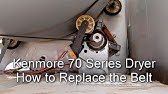 How to Replace a Kenmore Electric Dryer Idler Pulley - YouTube Kenmore Dryer Model Wiring Diagram on