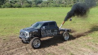 Whistlin Diesel's Destroyed F350?!