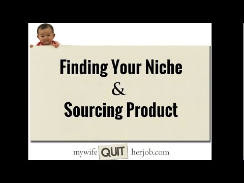 How Find Your Niche And Source Products To Sell Online
