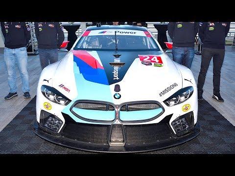 New BMW M8 GTE Le Mans Race Debut Rolex 24 Daytona 2018 WeatherTech SportsCar Championship CARJAM TV