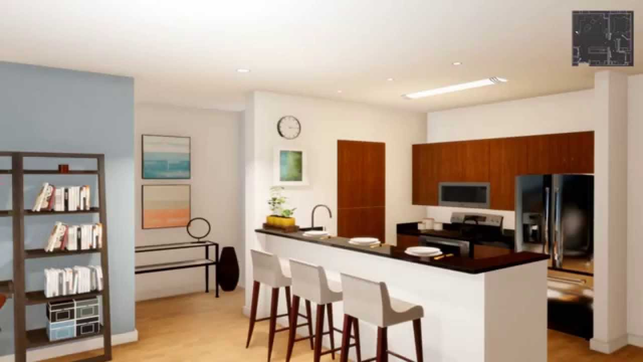 Fenway Diamond Apartments 3d Virtual Tour 1 Bedroom Apt Boston Ma Youtube
