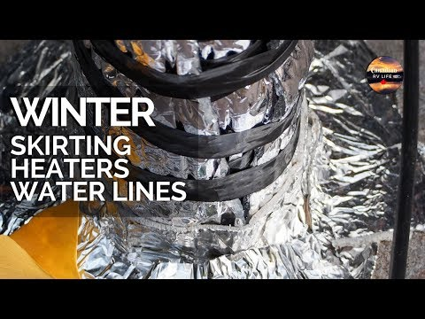RV Skirting, RV Heaters & RV Water Lines in Canada