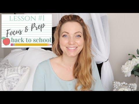 Staying Focused & Schedule Prep | SAHM | Back To School