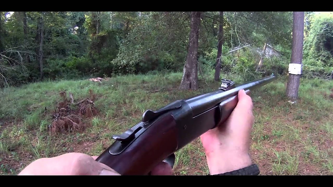 Winchester model 37 turkey shoot conversion 32 12 gauge for Turkey for 12
