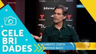 Humberto Zurita habló de su amor por Christian Bach | Un Nuevo Día | Telemundo