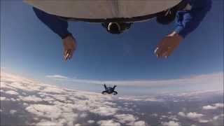 AFF Levels 1-7 & FS1 @ Skydive Elsinore with Active Skydiving, October 2014