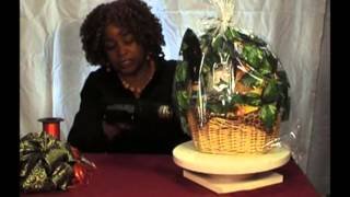 Shrink Wrap Your Gift Basket in 7 Minutes