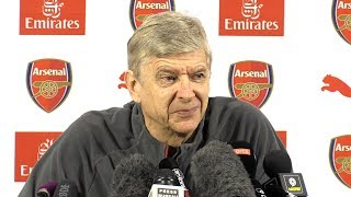 Arsene Wenger Full Pre-Match Press Conference - Chelsea v Arsenal - Carabao Cup