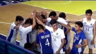 UAAP Season 78 Juniors Volleyball for Boys Ateneo vs UST Oct. 13 2015