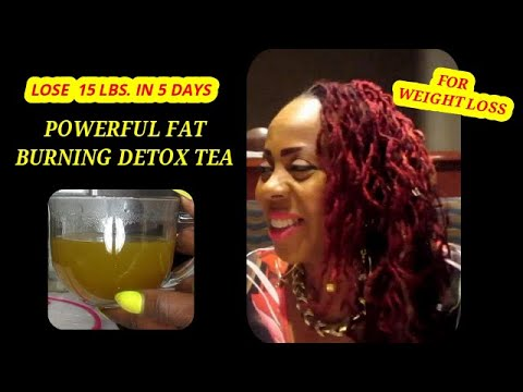 Lose Weight Fast | Powerful Fat Burning Tea For Weight Loss