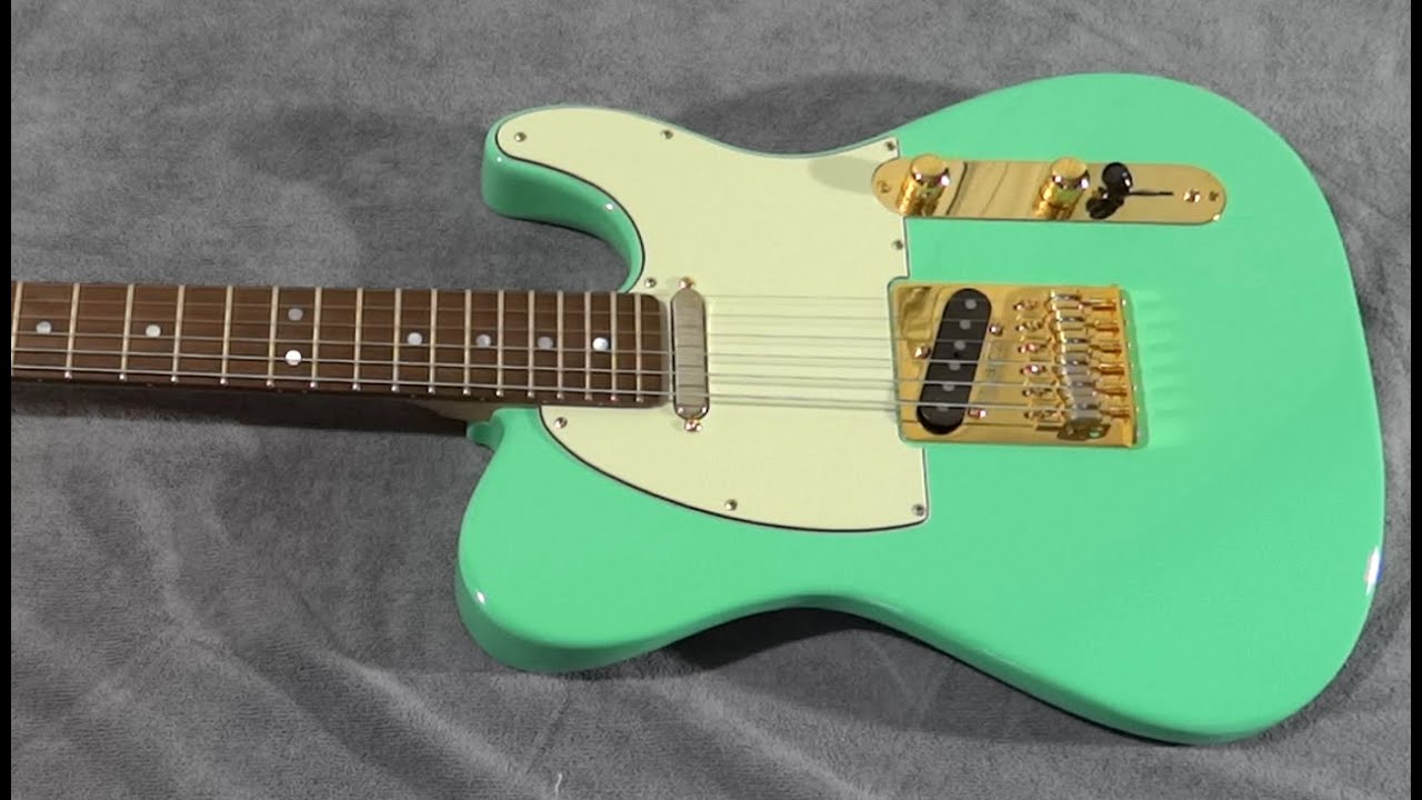 Solid vs Chambered Swamp Ash Warmoth Telecaster, Part 2