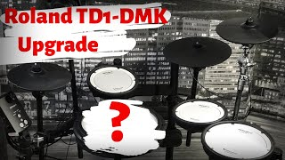 ROLAND TD1-DMK UPGRADE | PDX-12 - snare drum | PDX-8 - floor tom