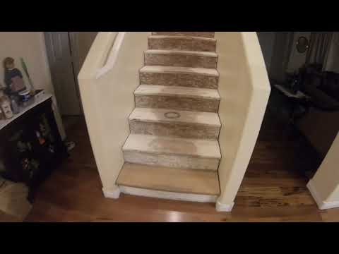 Carpet to Hardwood Stairs DIY Project