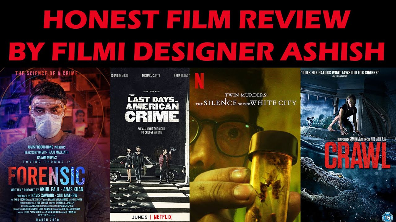 Top Film Review Of Forensic And 3 More Films In Hindi On Netflix Amazon Prime By Filmi Designer Youtube