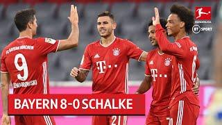 Bayern Munich vs Schalke (8-0) | Bundesliga highlights