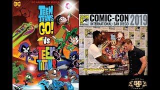 Teen Titans Go! Vs. Teen Titans | Producer & Director Jeff Mednikow Interview | SDCC 2019