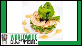 Vegetable Salad With Shrimps And Avocado - Macedoine - Shrimps Avocado Salad - Cooking Classes