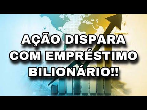 AÇÃO DISPARA COM EMPRÉSTIMO BILIONÁRIO!! - Adriano Santos from YouTube · Duration:  4 minutes 16 seconds