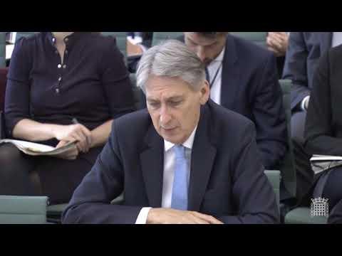 Philip Hammond on the Treasury's 'no deal' planning