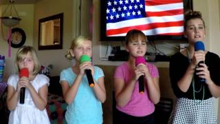 """Lee Greenwood cover """"God Bless The USA"""" by Mandee and the ABC girls"""