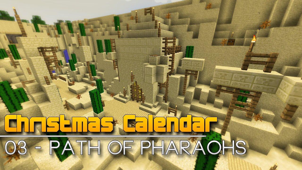 Christmas Calendar Minecraft Download : Christmas calendar path of pharaohs minecraft
