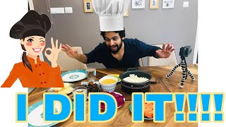 OMG!! HUSBAND COOKS FOR THE FIRST TIME  Ft HANNA DANISH ASHNA AND  SALEEL  EPISODE 25