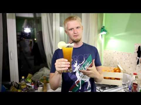 Коктейли с апельсиновым соком выпуск 18+