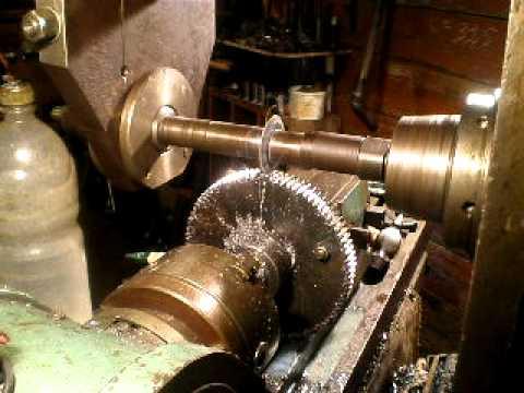 Biernatzki Milling Machine Cut The Last Tooth In The Gear