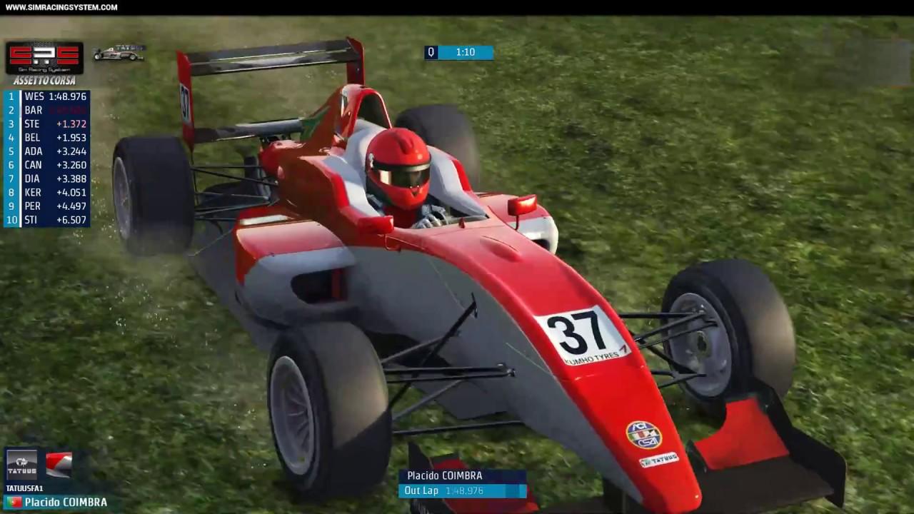 sim racing system live broadcast formula abarth. Black Bedroom Furniture Sets. Home Design Ideas