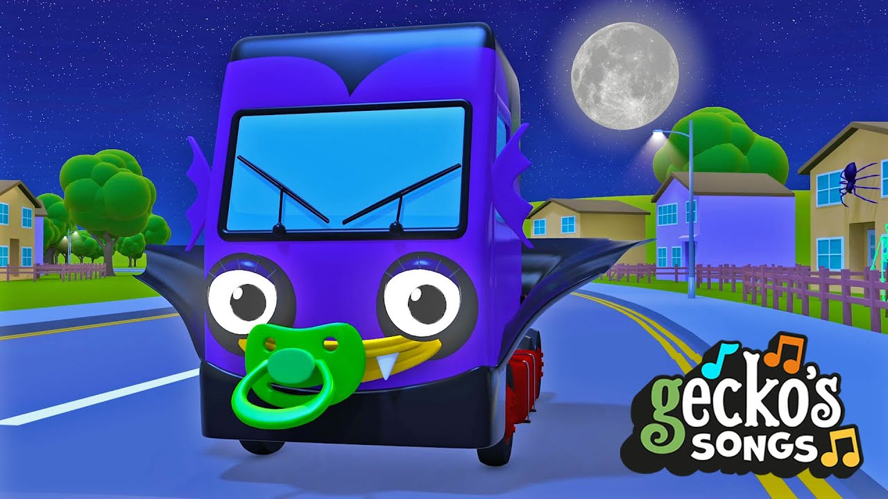 Baby Truck Watch Out... It's Halloween! | Nursery Rhymes & Kids Halloween Songs | Gecko's Garage