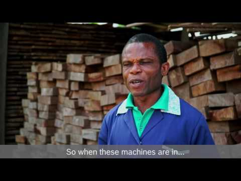 Bosch Power Box: Empowering & Uplifting Sokoban's Wood Workers
