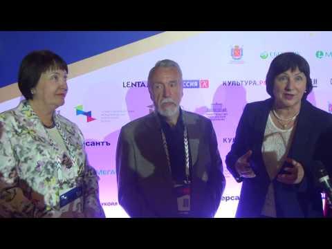 Cultural Forum 2016 in St.-Petersburg. Director of Russian Museam