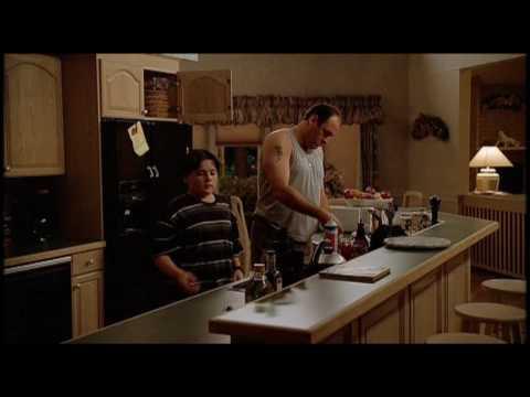 The Sopranos Episode 7 Tony & AJ Soprano Share Make Ice Cream Sundaes