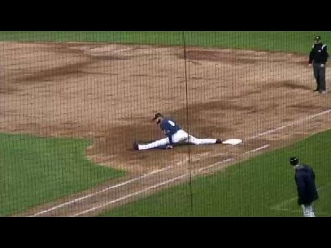 Fisher Cats' Guerrero Stretches Out To Complete DP