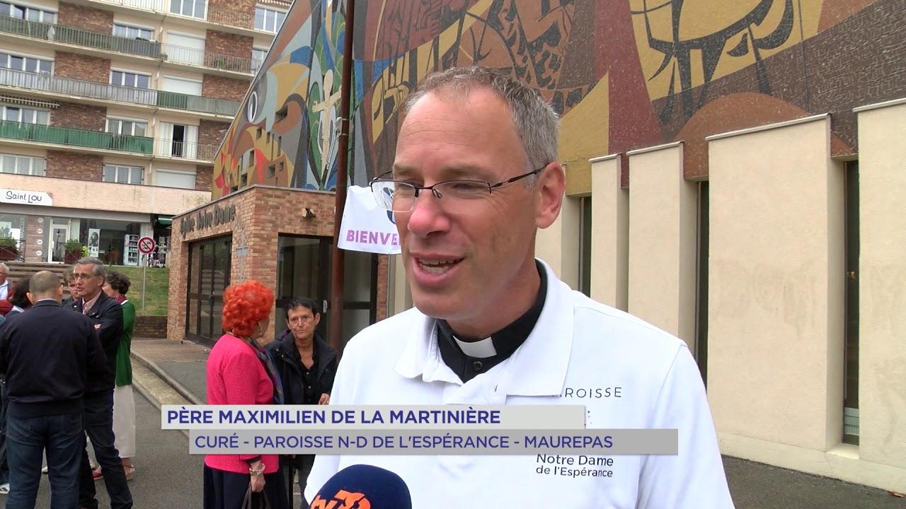 Maurepas : Réouverture de l'église Notre-Dame de l'Espérance