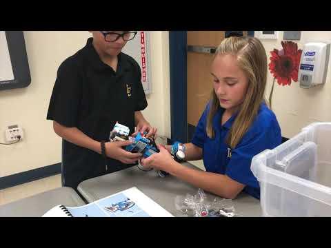 Lubbock Christian School Elementary Robotics