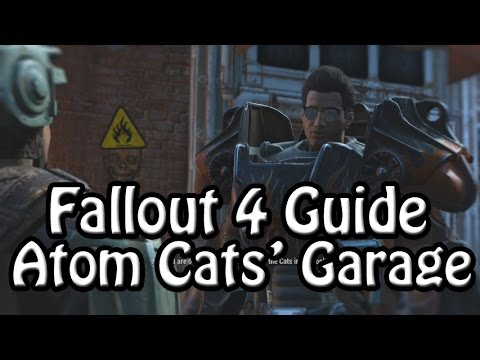 Fallout 4:  Location Guide - Atom Cats' Garage
