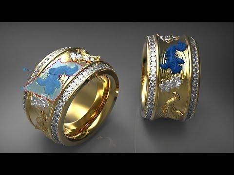 3D Jewellery Design Software - ArtCAM JewelSmith