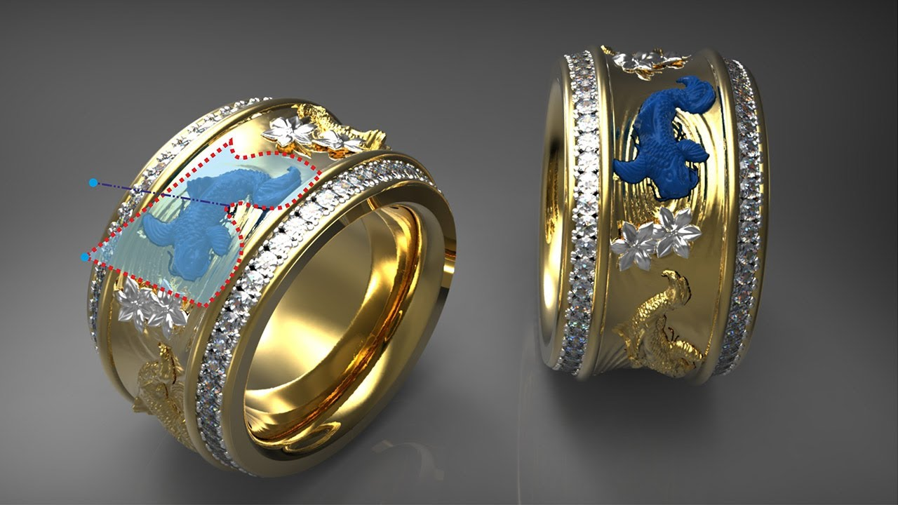 3D Jewellery Design Software ArtCAM JewelSmith YouTube