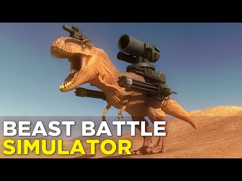 Clayton and Pat Play BEAST BATTLE SIMULATOR