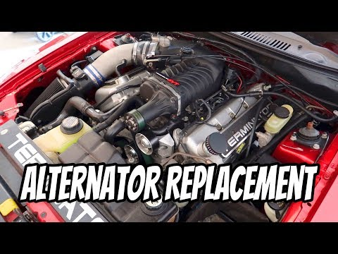 How to Replace the Alternator 03-04 Cobra and Diagnose Issues