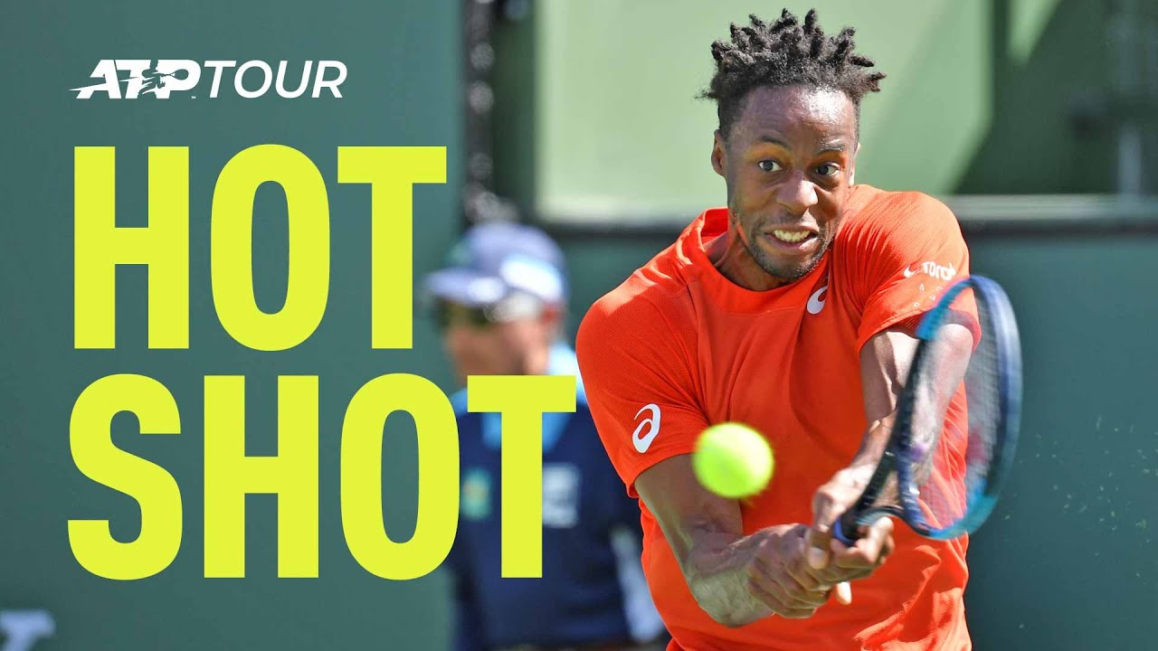 Hot Shot: Can Anyone Cover Court Like Monfils Does Here In Indian Wells 2019?