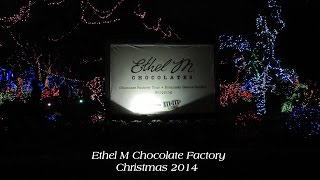 Christmas Lights Ethel M 2014 Las Vegas Chocolate Factory Botanical Cactus Garden Tour