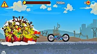 Two Sider MiniGun Unlocked Zombie Road Trip Android Gameplay screenshot 1