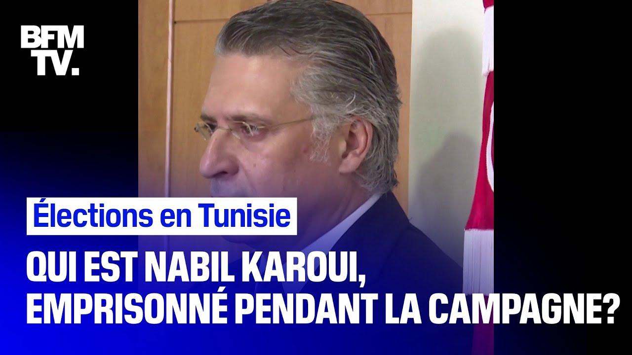 Qui est Nabil Karoui, candidat à l'élection présidentielle en Tunisie libéré de prison?